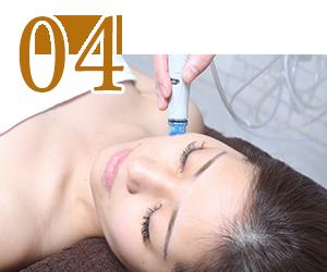 ハイドラ施術 Step2、3、4 神戸三宮フォーシーズンズ美容皮膚科クリニック