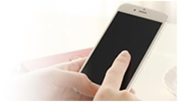 メニュー背景の携帯画像