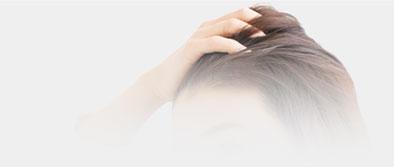 頭髪のお悩み背景画像