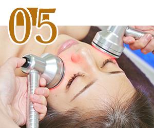 ハイドラ施術 Step5、6 神戸三宮フォーシーズンズ美容皮膚科クリニック