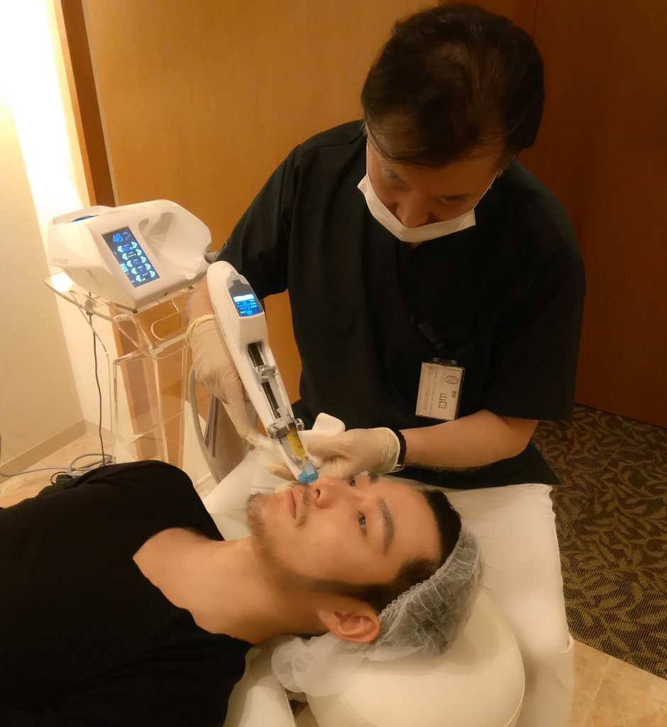 フォーシーズンズ美容皮膚科 PRP皮膚再生療法の注入技術