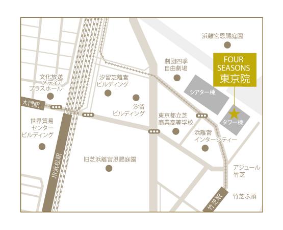 東京院地図
