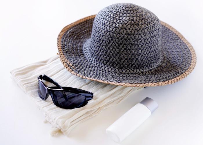 紫外線対策、保湿 シワを防ぐ